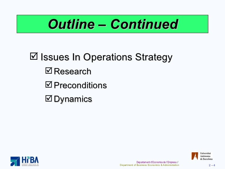 operations strategy essay This paper provides a review of the relevant literature to evaluate the current international operations management strategy of lenovo and the extent to which the organization's international operations management strategy likely to be appropriate in the future.