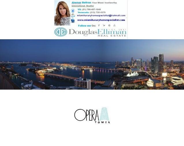 Opera Tower Brochure Spanish