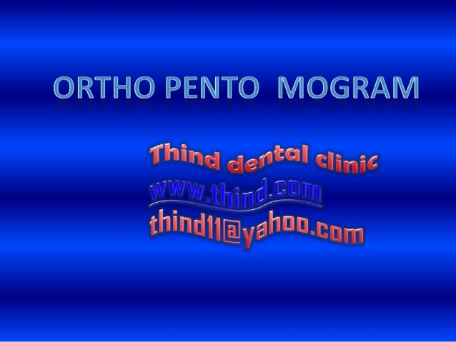 Opg cases ,Thind Dental clinic