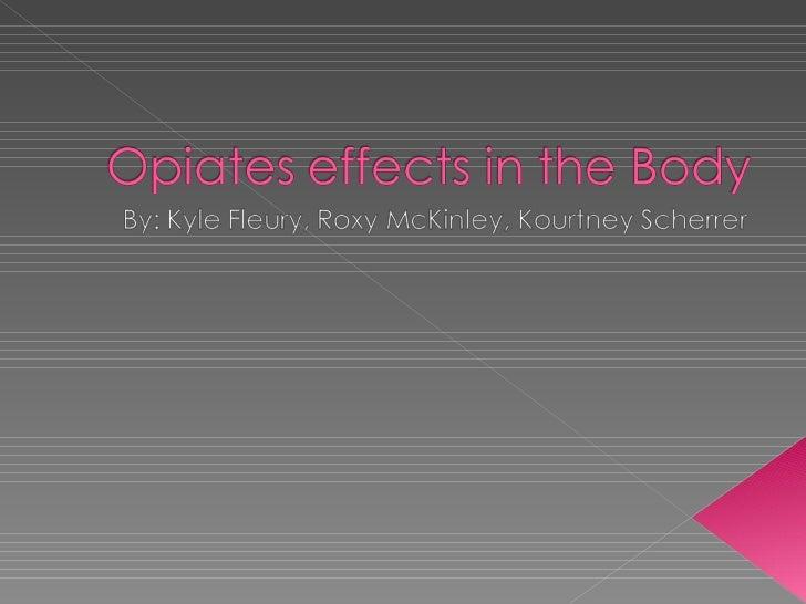 Opiate Project