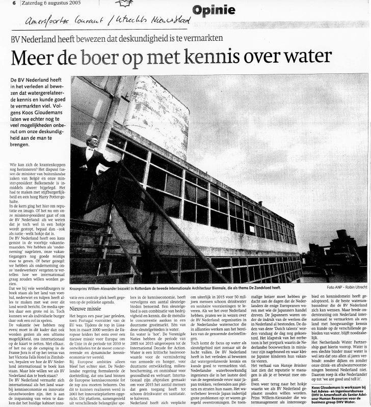 Opiniestuk Amersfoortse Courant Branding Nederland B.V.