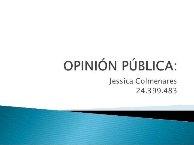 Jessica Colmenares  24.399.483
