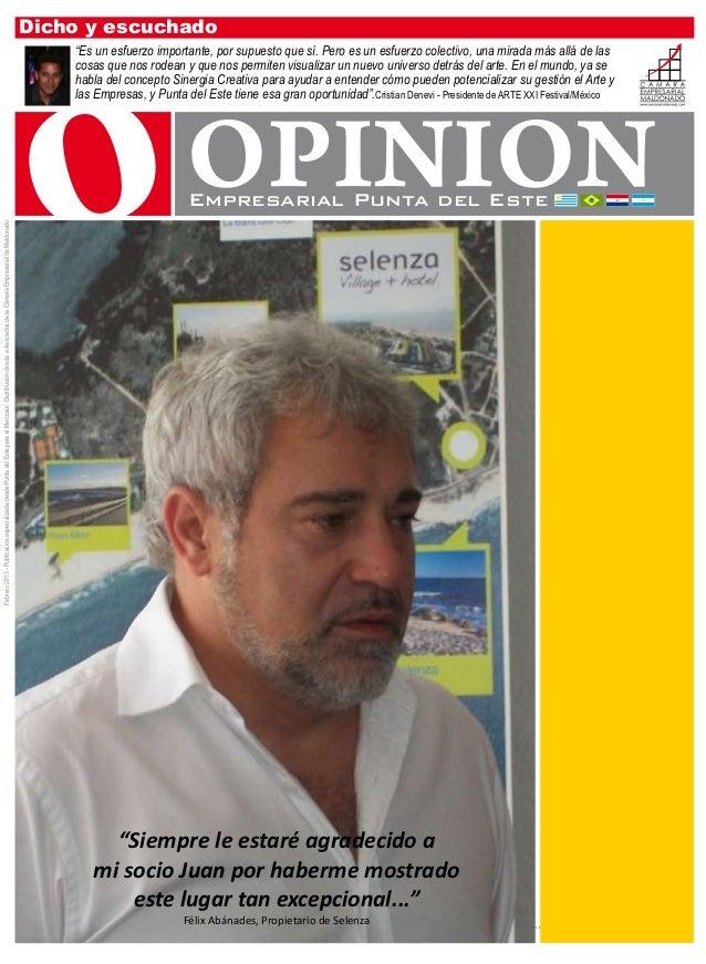 Opinion   revista febrero - mailing