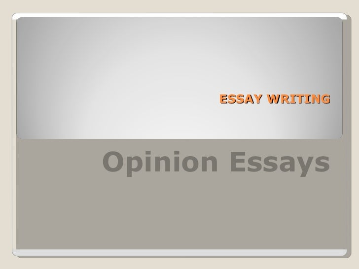 Passively giving your own opinion/view in an essay?
