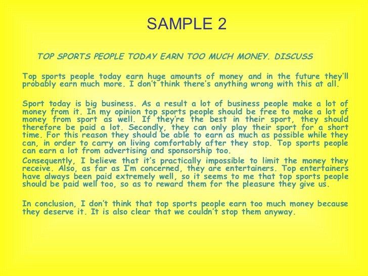 essay of sport Sports Essay