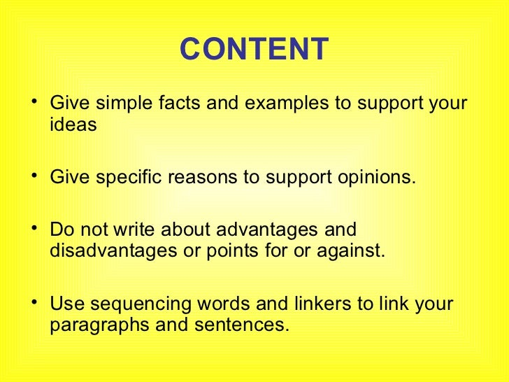 Simple Essay Example