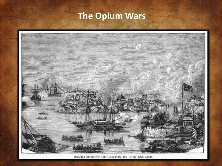 history of chinese opium wars University of pennsylvania scholarlycommons honors program in history (senior honors theses) department of history 5-2-2008 the root of the opium war: mismanagement in.