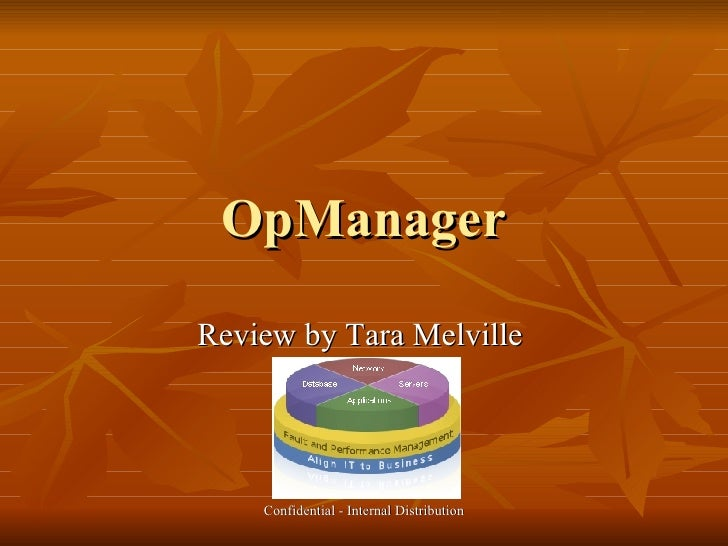 OpManager Review by Tara Melville
