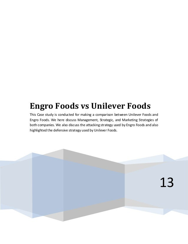 case study of engro foods limited Engro foods limited (efl) case study vision statement: to be the premier pakistani enterprise with global reach, passionately pursuing value creation for all stake holders _____ engro foods limited is a wholly owned subsidiary of engro corporation.