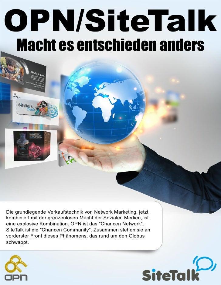 Macht es entschieden andersDie grundlegende Verkaufstechnik von Network Marketing, jetztkombiniert mit der grenzenlosen Ma...
