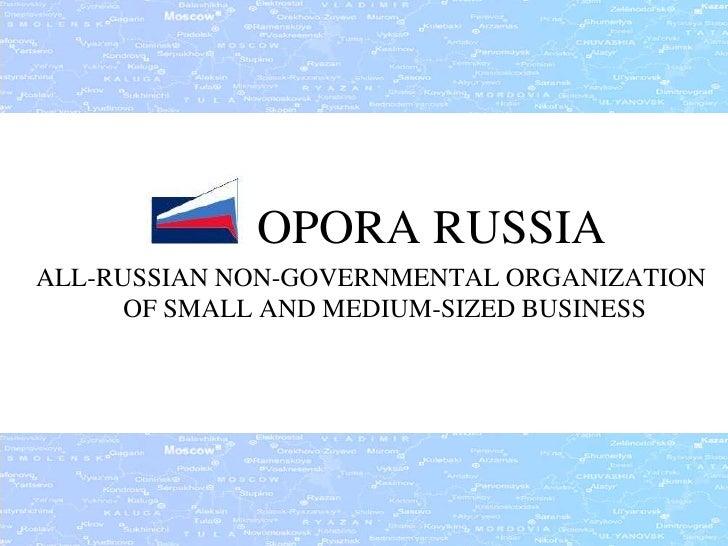 OPORA RUSSIA