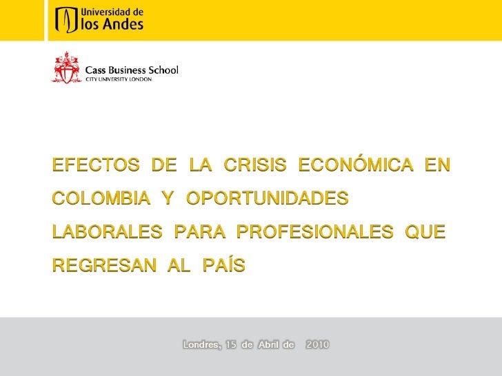 Oportunidades Laborales En Colombia