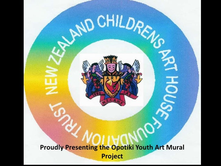 Proudly Presenting the Opotiki Youth Art Mural                     Project