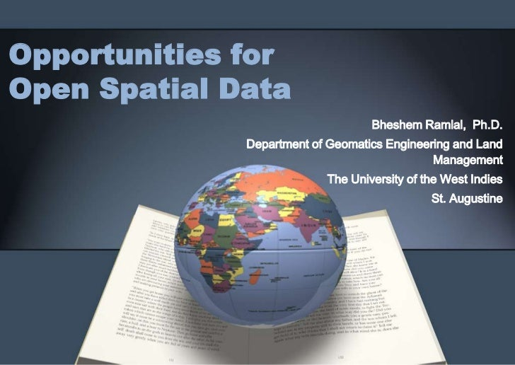 Opportunities for open spatial data