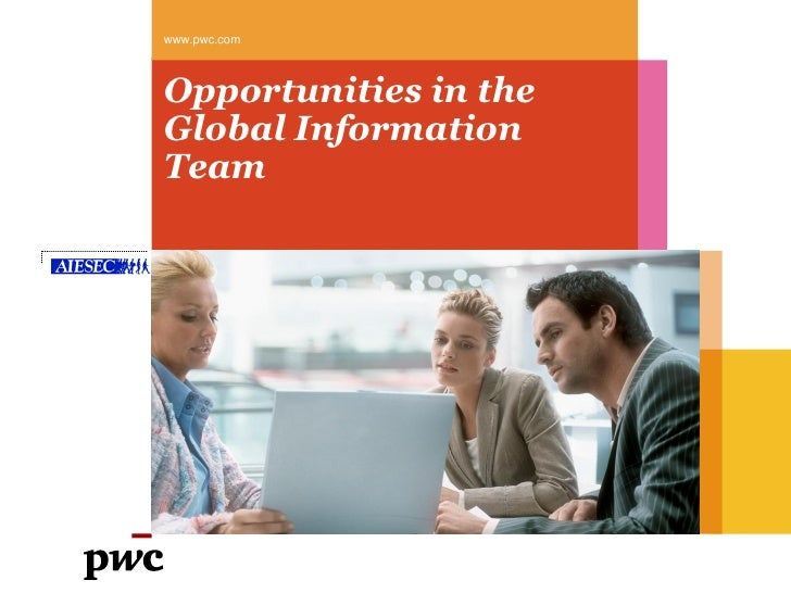 Opportunities at PwC US for AIESEC Members