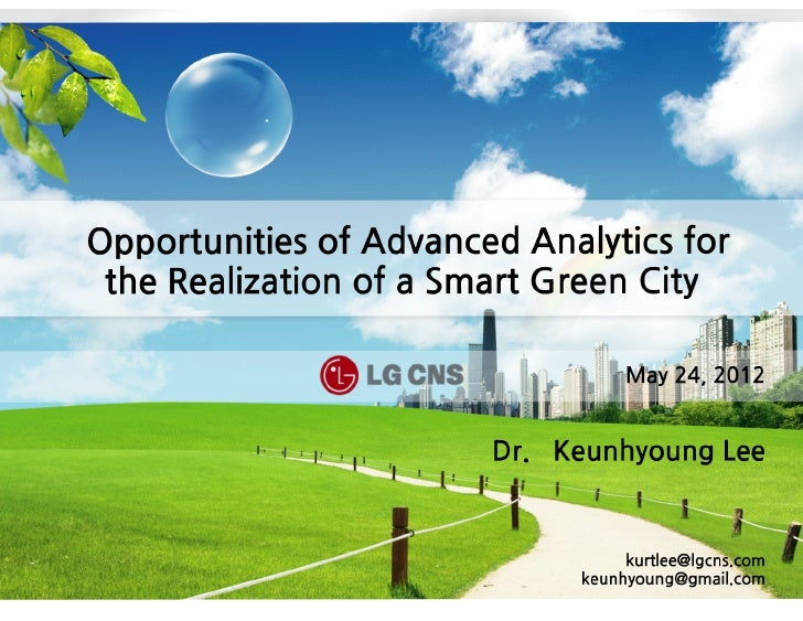 Opportunities of aa for smart green city realization   keunhyoung lee