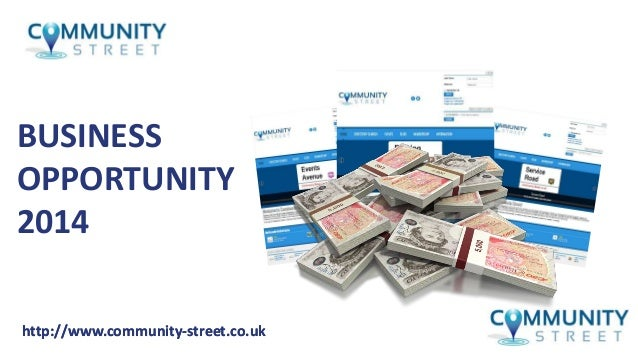 Community Street Business Opportunity