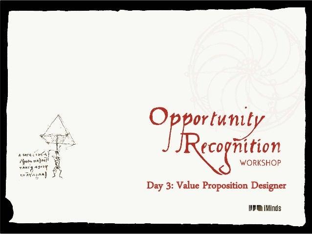 Day 3: Value Proposition Designer