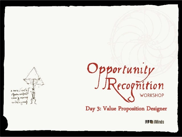 Day 3: Value Proposition Designer