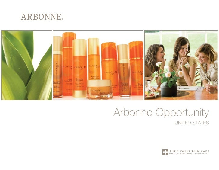 Arbonne Opportunity                 UNITED STATES                pure swiss skin care            formulated in switzerland...