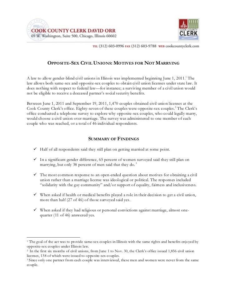 Opposite sex civil union report final 12.19.11