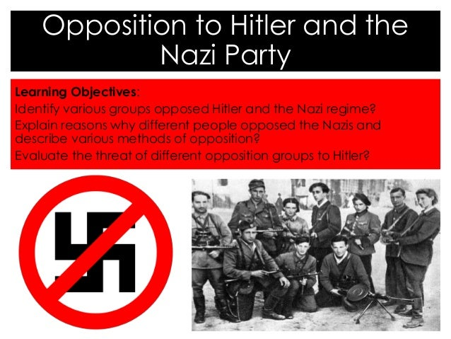 why was opposition to the nazis Nazi germany's policy changed towards slavs in response to military manpower shortages inside nazi germany: conformity, opposition, and racism in everyday life.