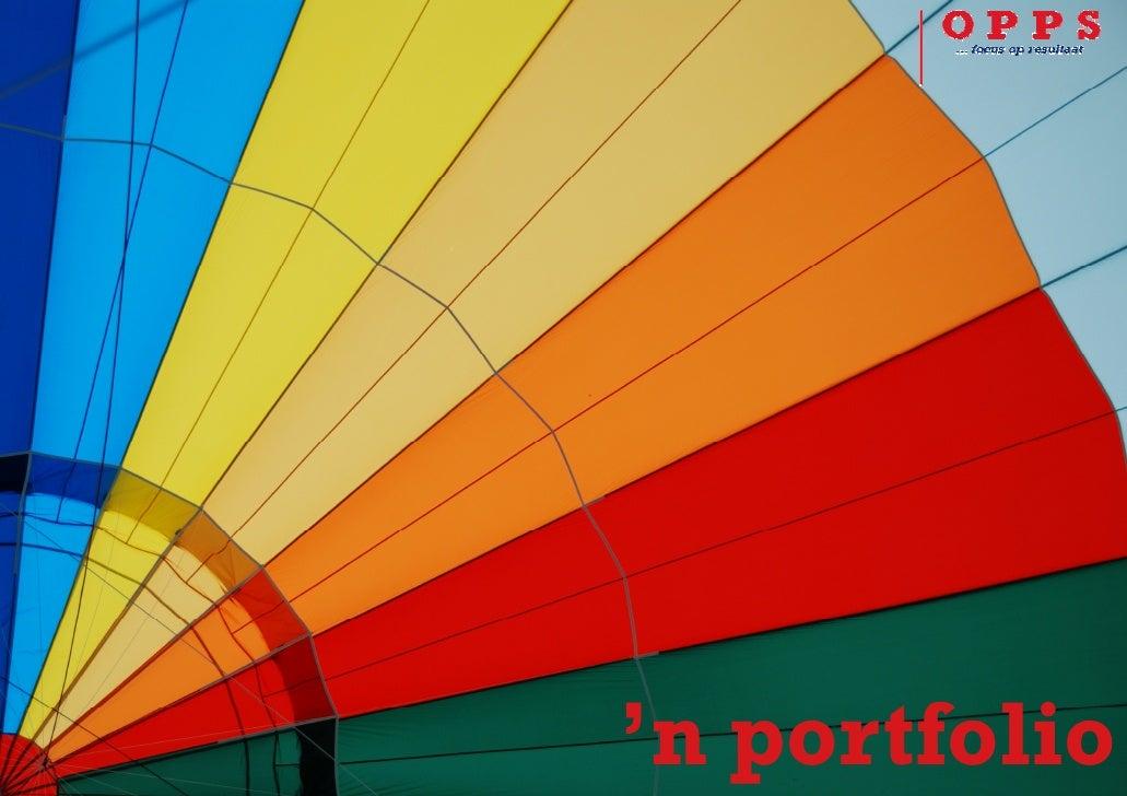 Opps portfolio
