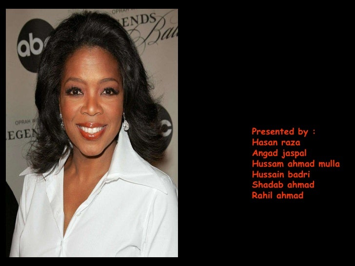 Oprah winfrey biography[1]