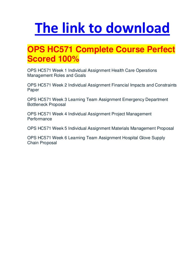 ops 571 assignment