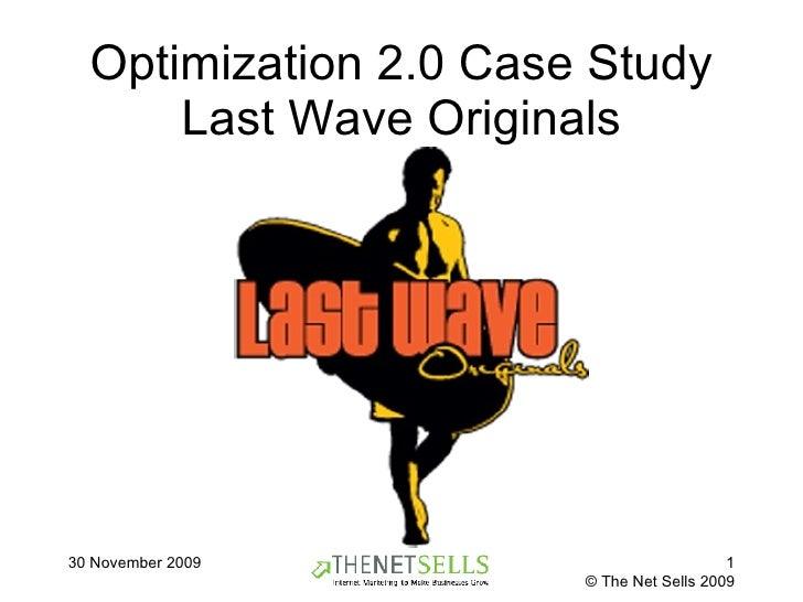 Optimization 2.0