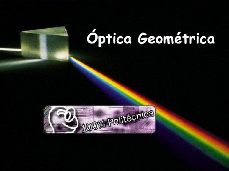 Optica+Geometrica