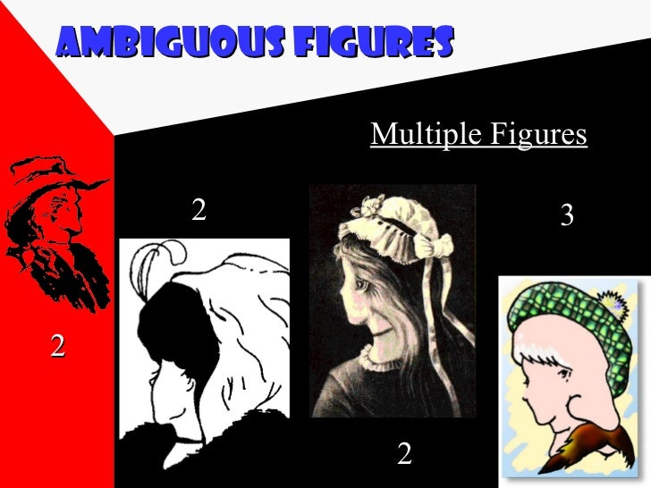 psych ambiguous figures Study 670 psych 120a study guide (2013-14 monti) gestalt psychology manipulations of mental representation of ambiguous figures.