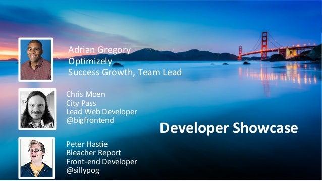 Adrian  Gregory   Op/mizely   Success  Growth,  Team  Lead   Chris  Moen   City  Pass   Lead  Web...