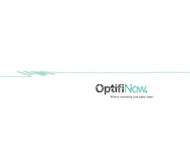 OptifiNow overview
