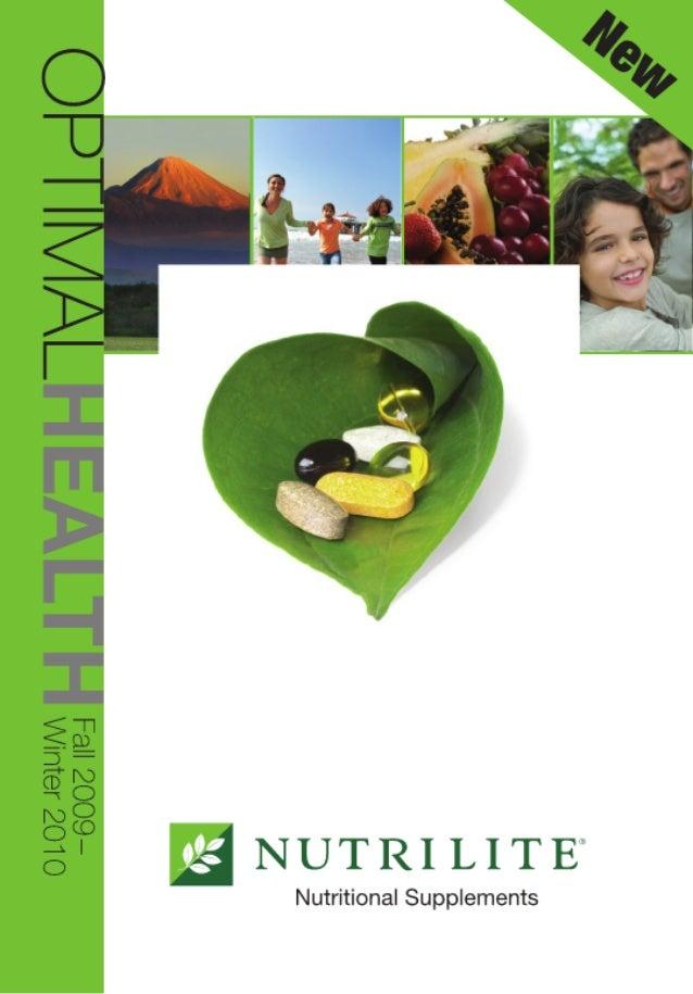 2009/2010 Optimal Health Catelog