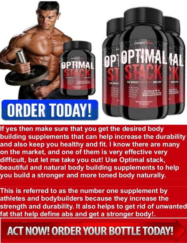 Optimal Stack best supplement for muscle growth