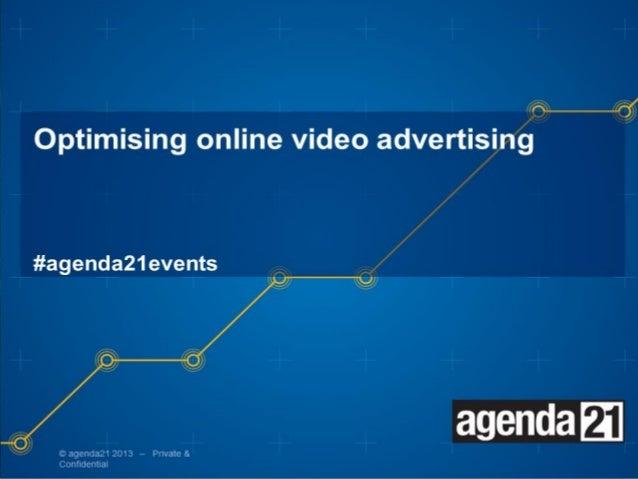 Optimising online video   agenda21 event - Youtube's Perspective