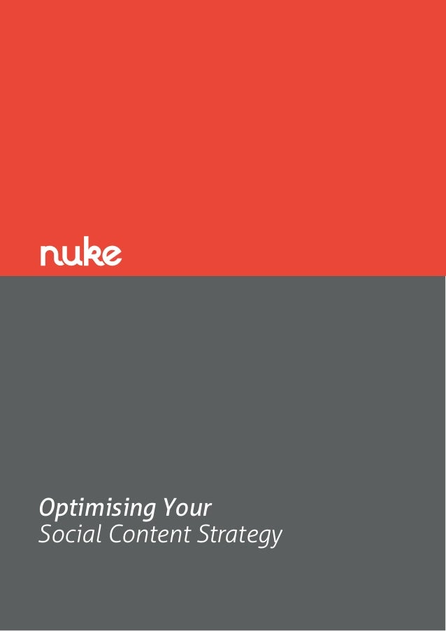 Optimising Your Social Content Strategy