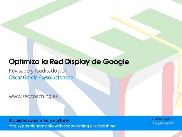 Su opción de orientación. Red de Display de Google