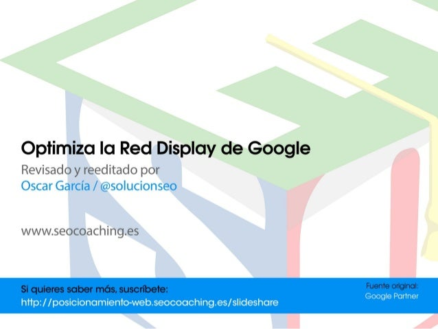 Optimiza la Red Display de Google | Marketing online