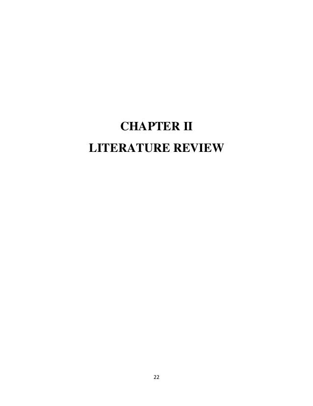 Review Of Literature On Inventory Management