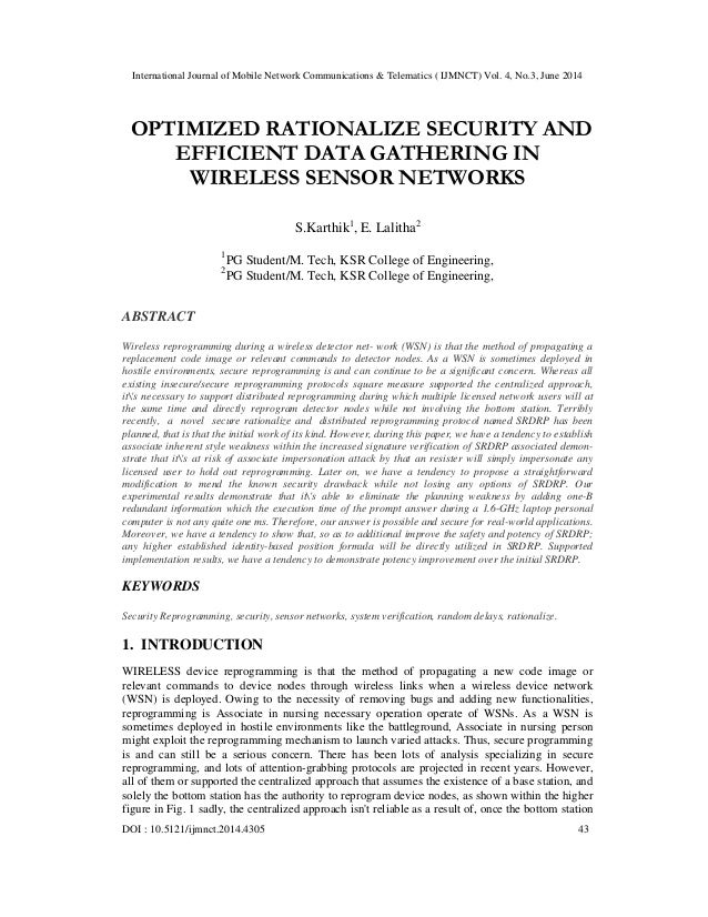 Optimized rationalize security and efficient data gathering in wireless sensor networks