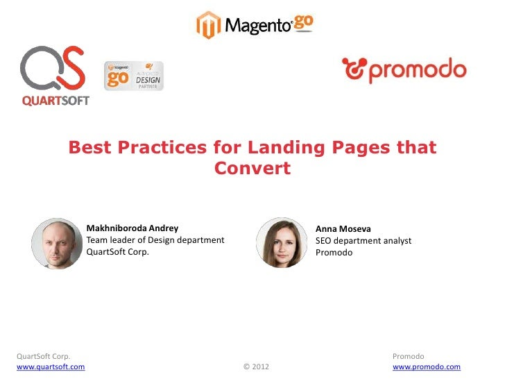 Best Practices for Landing Pages that Convert