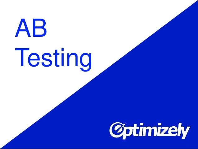 Optimizely: A/B testing