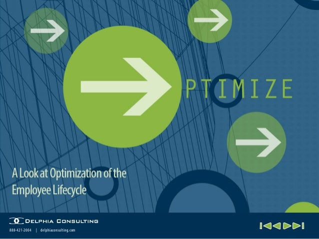 Optimize the Employee Lifecycle