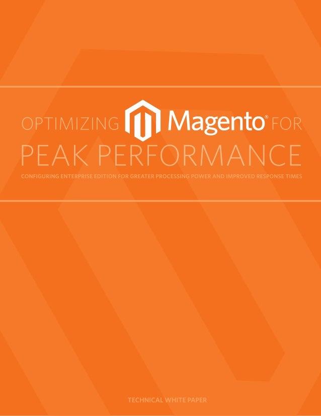 Optimizing magento for_peak_performance
