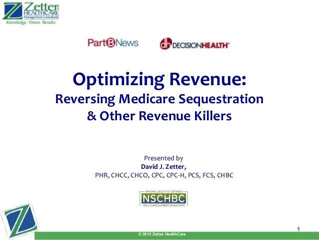 Optimizing Revenue