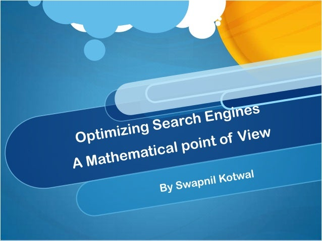 Optimizing search engines