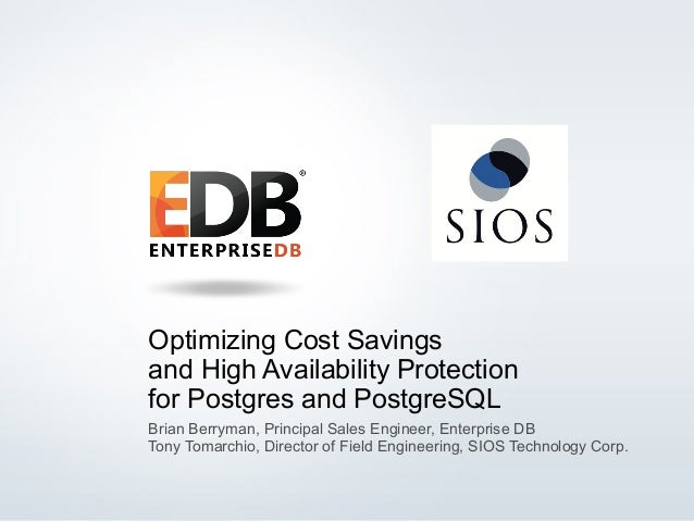 Optimizing Cost Savings and High Availability Protection for Postgres and PostgreSQL