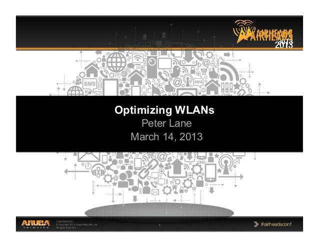 Optimizing wlan operations peter lane